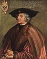 Portrait of Emperor Maximilian I, 1518 - Albrecht Durer ...