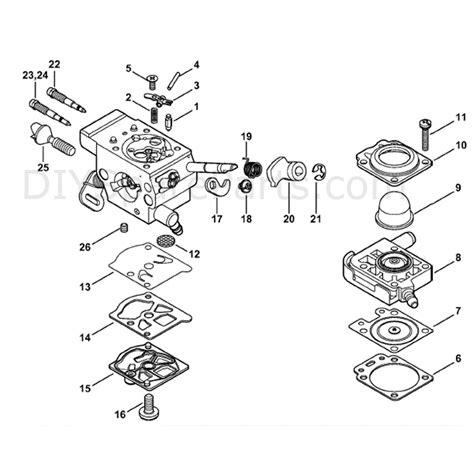 Diagram Of Stihl Tiller Engine by Stihl Fs 110 Parts Diagram Engine Downloaddescargar