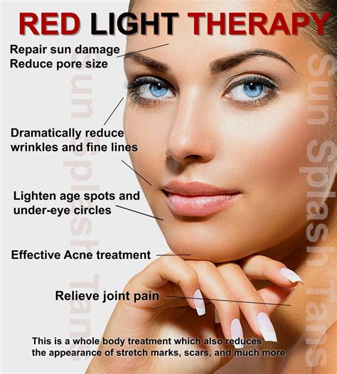 red light therapy benefits red light therapy sun splash tans indoor tanning salon