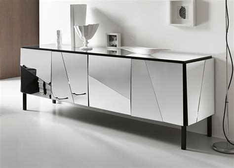 white mirrored sideboard psiche glass sideboard glass furniture sideboards 1054