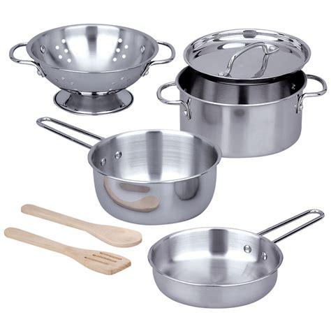 pots and pans set let s play house pots pans set creative kidstuff