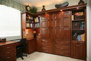 murphy bed with desk My new office :) Pinterest