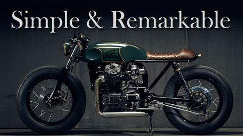cafe racer honda cx 500 by popbang classics and gl 400 by wedge motorcycle
