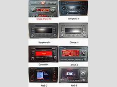 Audi A3S3RS3 20032013 Autoradio GPS Navigation Head Unit