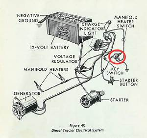 Wiring Diagram Ford 4000 Tractor