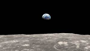 HD Earth From Moon Apollo - Pics about space