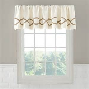 linden valance bed bath beyond
