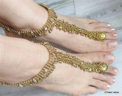 Buy Antique Gold Payal Anklet Pair Attached Toe Ring Online. Ladies Chains. Non Traditional Rings. 5 Carat Wedding Rings. White Gold Bands. 1 Ct Diamond Eternity Band. Vertical Necklace. Amethyst Necklace. Cushion Cut Gemstone