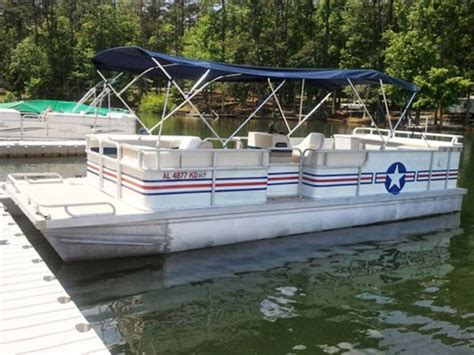Used Pontoon Boats For Sale Near Lake Martin Al by It Takes A Grease Pontoon Deck Boat Magazine