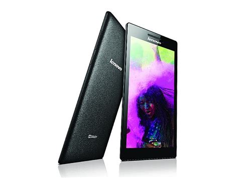 lenovo tab     android  kitkat launched  rs