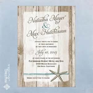 starfish wedding invitations starfish wedding invitation destination by invitinginvites