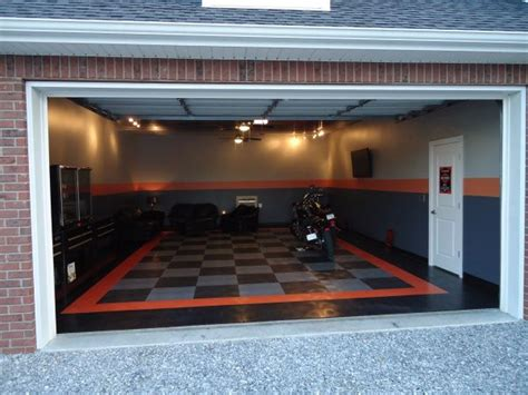 "Harley Davidson Garage Ideas  The Harley Room"" Garage, A"