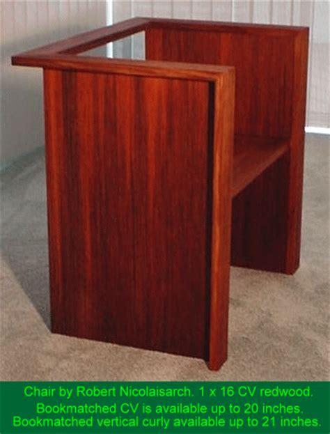 Custom Redwood Furniture and Doors