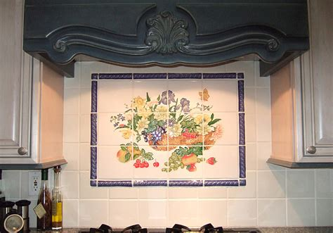 kitchen tile backsplash murals my home kitchen mural backsplash
