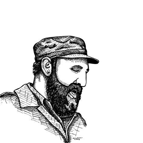 fidel castro drawing  karl addison