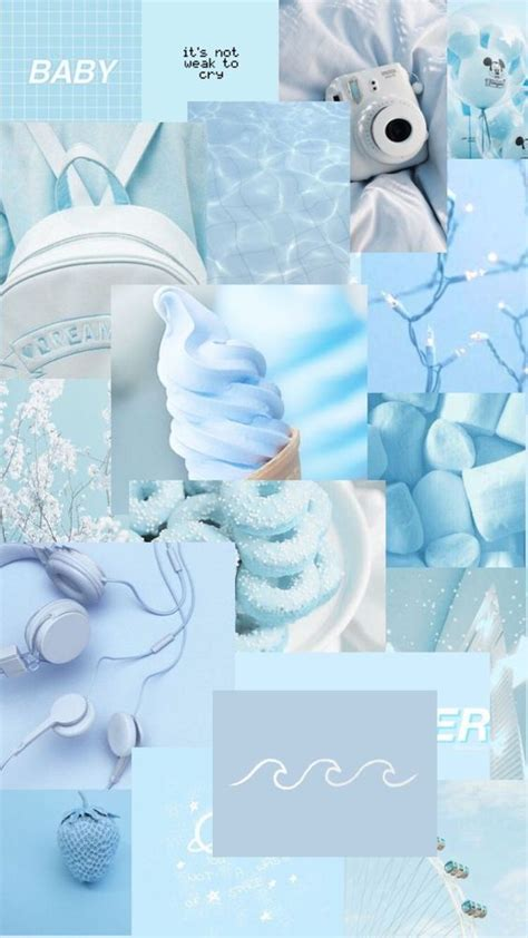 light blue aesthetic wallpaper sky blue aesthetic