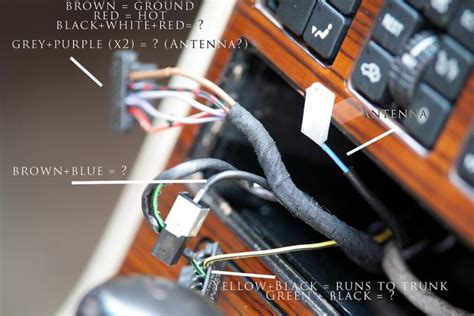 Mexico Bad Electrical Wiring by 1991 W126 Stereo Install Mercedes Forum