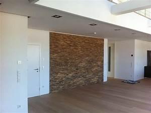 Holz Wand Wohnzimmer BS Holzdesign