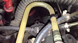 Bmw E39 530d Fuel Line Inspection