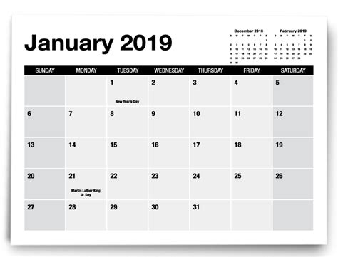 calendar templates printingcenterusa