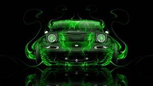 Mazda Miata JDM Front Fire Abstract Car 2014 el Tony