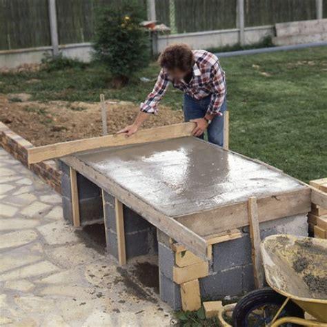 beau faire une piscine soi meme 8 barbecue en briques de parement mont233es sur parpaings evtod