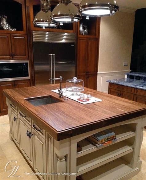 kitchen island top walnut wood counter for kitchen island in florida