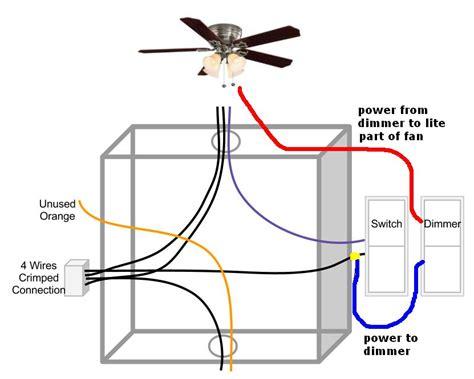 ceiling fan light  dimmer switch fan  normal switch