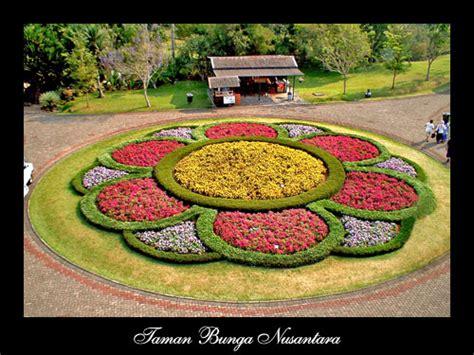 taman bunga nusantara nusantara flower garden