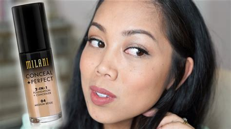 Milani Conceal And Perfect 2 In 1 Foundation Review