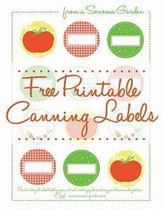 adorable free canning label printable With home canning labels