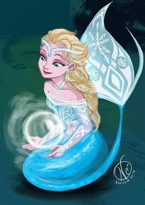 elsa   mermaidyou   poll results disney