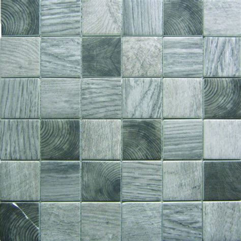 bati orient glass tile bati orient recycled glass wood look squares grey mix