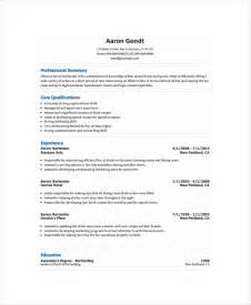 best resume format for bartenders free bartender resume templates resume format download pdf