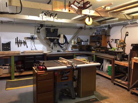 craigs garage workshop  wood whisperer