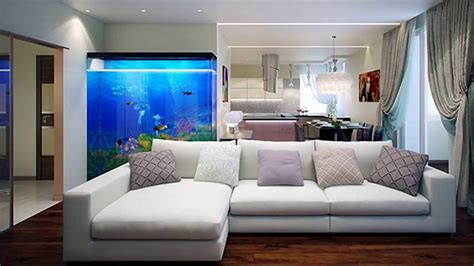 aquarium interior decoration ideas inverted