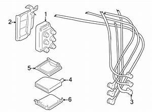Mazda 626 Cable Set  Plug Wire 6 Cylinder  Plug Wire Set