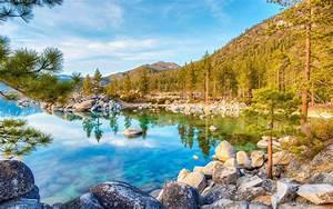 Lake, In, The, Sierra, Nevada, Of, Usa