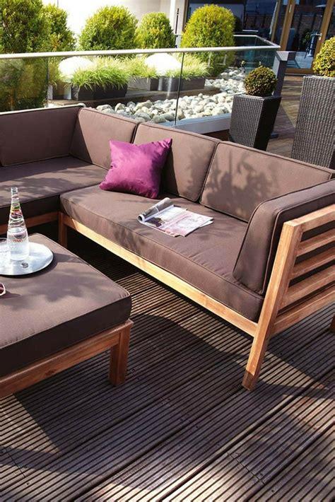 Garten Lounge Möbel Holz by Outliv Odense Loungeecke 3 Teilig Akazie Polster In 2019