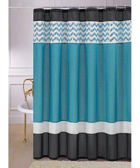 teal shower curtain foter