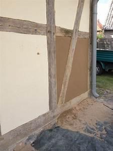 Haus Selber Verputzen : fachwerkhaus sanierung lehmputz mit lein lfirnis beseitigung von schmierereien und ~ Markanthonyermac.com Haus und Dekorationen