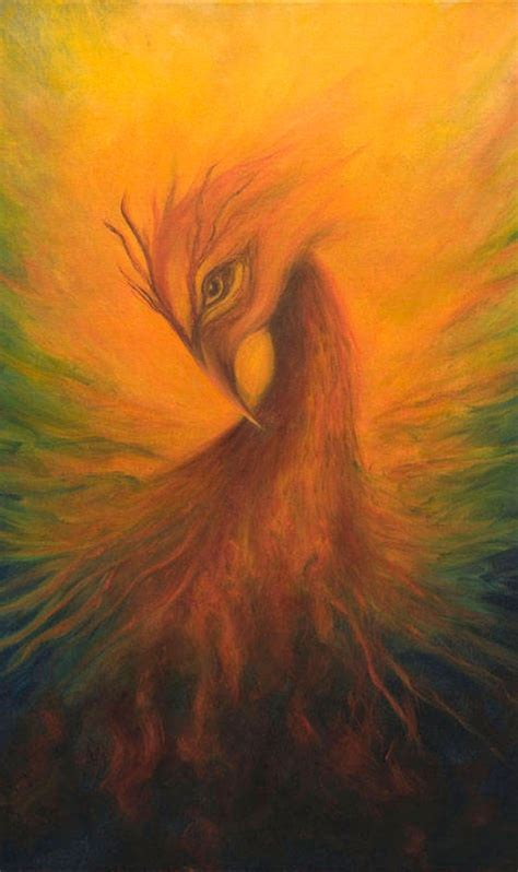 Phoenix Print Poster Phoenix Rising Fantasy Art Firebird | Etsy