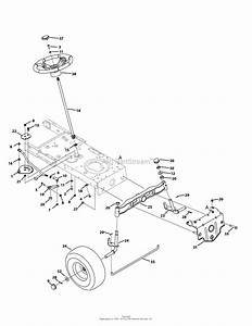 Mtd 13aj775g059  2009  Parts Diagram For Steering