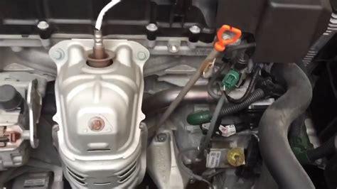 accord  cyl cvt transmission fluid change