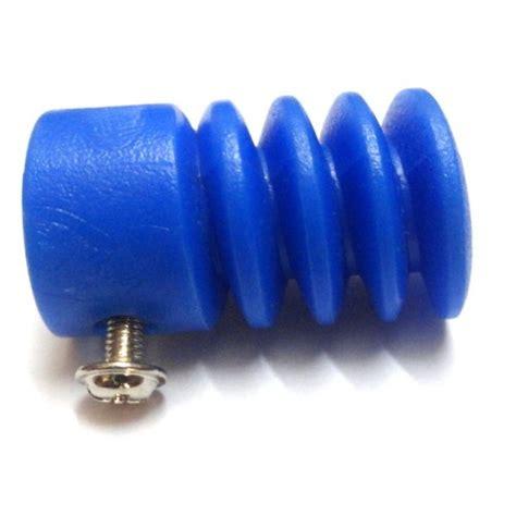 plastic worm gear  reducer mm  shape shaft coupling blue