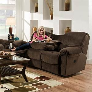 American furniture af310 casual styled reclining sofa with for American home furniture couches