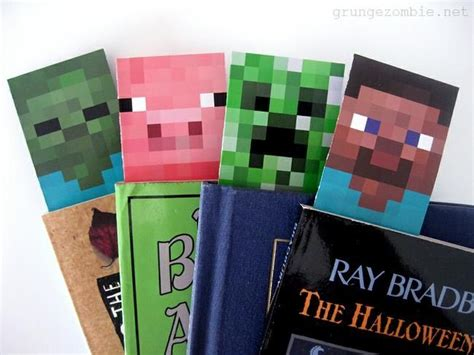 Minecraft Bookmark Template by 25 Best Ideas About Printable Bookmarks On
