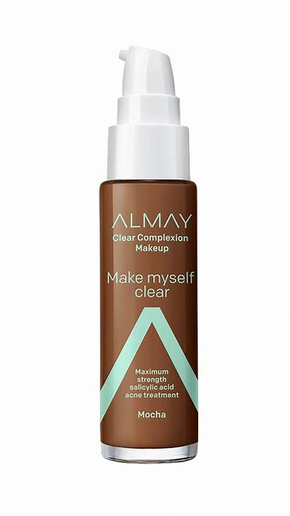 Almay Foundation Makeup Clear Complexion Face