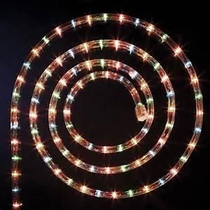Decoration De Noel Exterieur Lumineuse : guirlande no l ext rieur tube lumineux led 8 fonctions 24m multicolore achat vente guirlande ~ Preciouscoupons.com Idées de Décoration