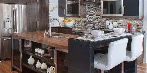 comptoir de cuisine en bois comptoirs bois armoires cuisines